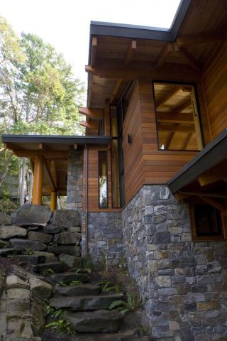 West Coast Home on Pender Island built by Dave Dandeneau of Gulf Islands Artisan Homes