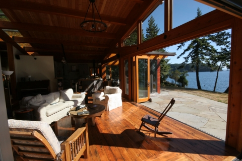 Inside a Luxury West Coast Home built by Gulf Islands Artisan Homes Dave Dandeneau