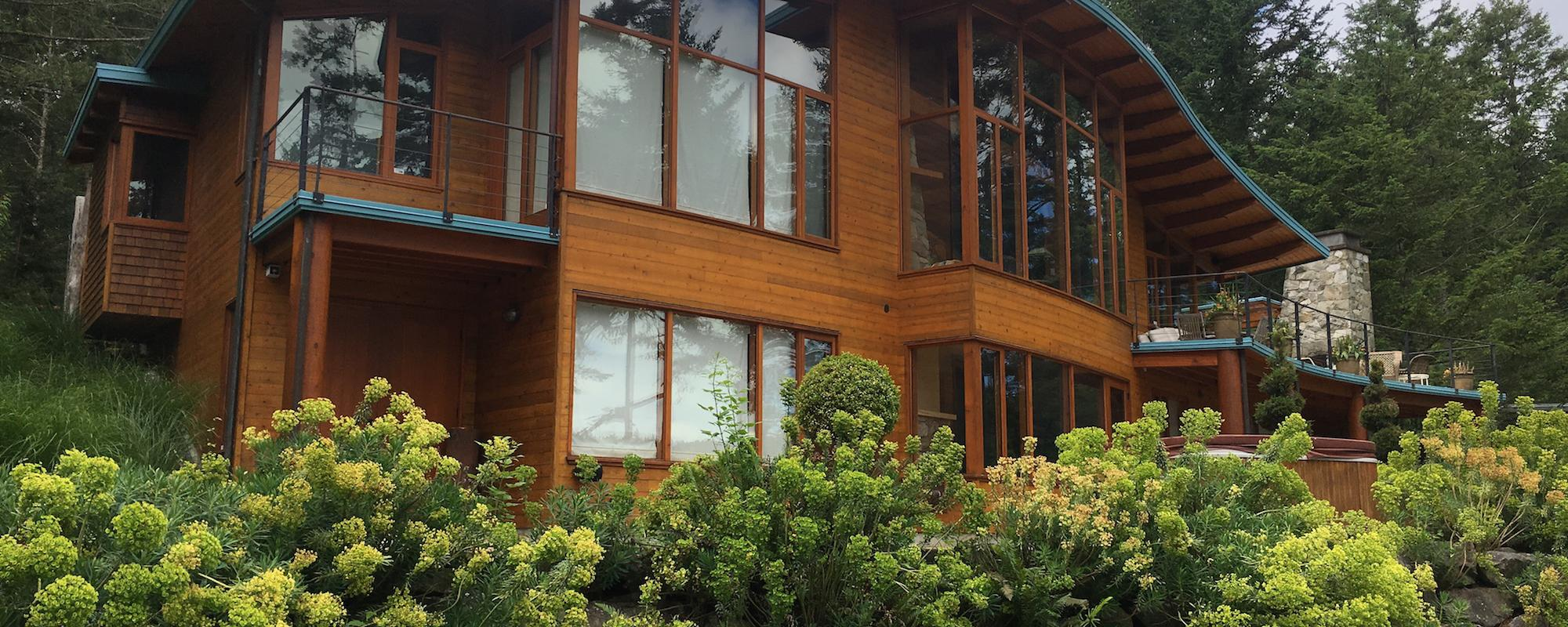 Exterior Shot of Canal Road project - built by Gulf Island Artisan Homes by Dave Dandeneau